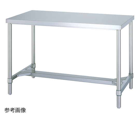 Shinko Co., Ltd WH-18075 Stainless Steel Workbench (H Frame Type) 750 x 1800 x 800mm