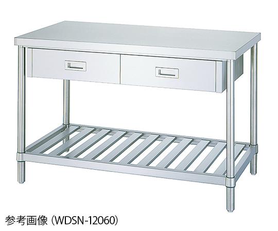 Shinko Co., Ltd WDSN-12060 Workbench With Drawers Duckboard Type 600 x 1200 x 800mm