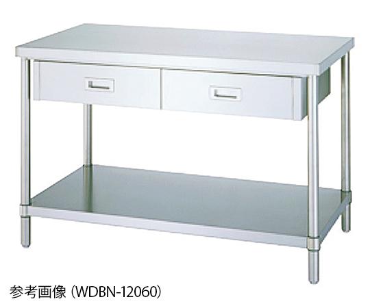 Shinko Co., Ltd WDBN-12045 Workbench With Drawers Plain Board Type 450 x 1200 x 800mm