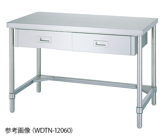 Shinko Co., Ltd WDTN-9045 Workbench With Drawers 3-Side Frame Type 450 x 900 x 800mm