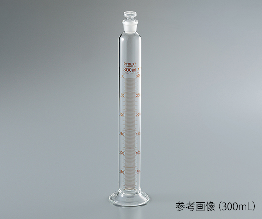 Corning Incorporated 3002JIS-100 PYREX (R) JIS Graduated Cylinder With Plug 100mL
