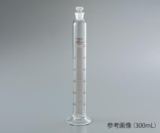 Corning Incorporated 3002JIS-300 PYREX (R) JIS Graduated Cylinder With Plug 300mL