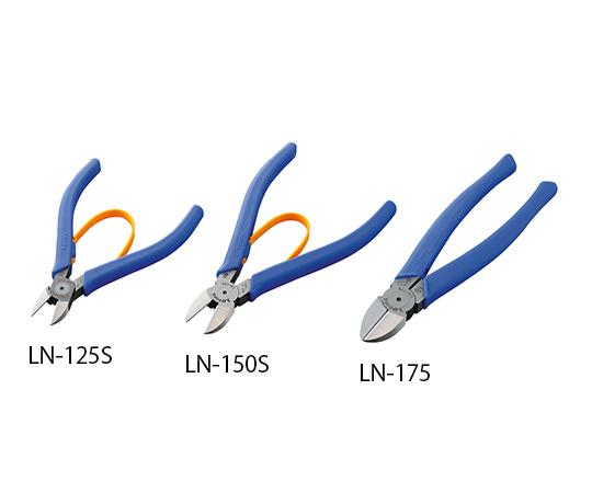 THREE PEAKS GIKEN Co., Ltd LN-125S Light Nipper 125mm (Cutting ability : Steel, copper, stranded)