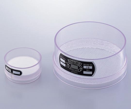 AS ONE 1-9697-01 Vinyl Chloride Frame Sieve 10 Mesh φ75