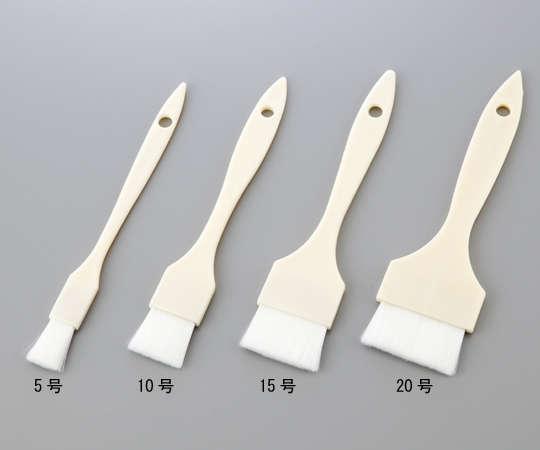 AS ONE 1-2792-01 Heat Resistance Polypropylene (PP) Brush 15mm Size 5