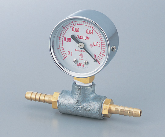 AS ONE 1-1185-01 Aspirator Vacuum Gauge 0 - 0.1MPa