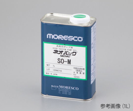 MORESCO SO-M Vacuum Pump Oil (NEOVAC, Synthesis System) 4L