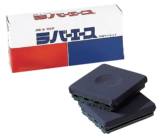 AS ONE 1-579-01 Rubber Ace (Vibration-Proof Rubber) Type 4 Pcs