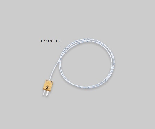 AS ONE 1-9930-13 DT-K-5m Coated Thermocouple (K Thermocouple: Duplex)
