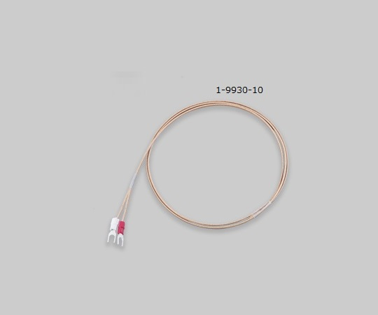 AS ONE 1-9930-10 DG-K-5m-Y Coated Thermocouple (K Thermocouple: Duplex) Terminal