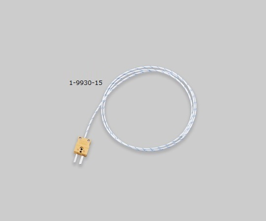 AS ONE 1-9930-15 DS-K-5m Coated Thermocouple (K Thermocouple: Duplex)