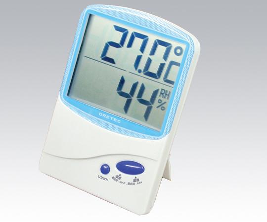 DRETEC O-206BL Digital Thermo-Hygrometer -10 to +50oC /25 - 98%RH