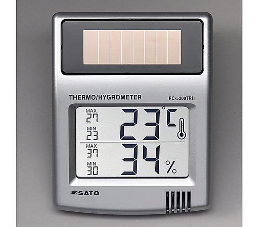 Sato Keiryoki PC-5200TRH Solar Digital Thermo-Hygrometer -10 to +50oC /20 - 95%RH