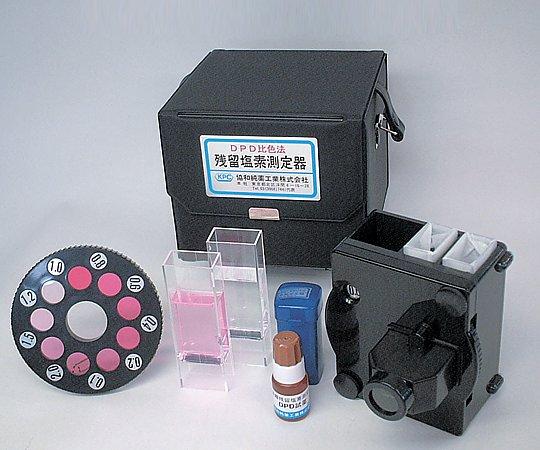 AS ONE 2-6205-01 DPD Residual Chlorine Measuring Instrument Measuring Instrument