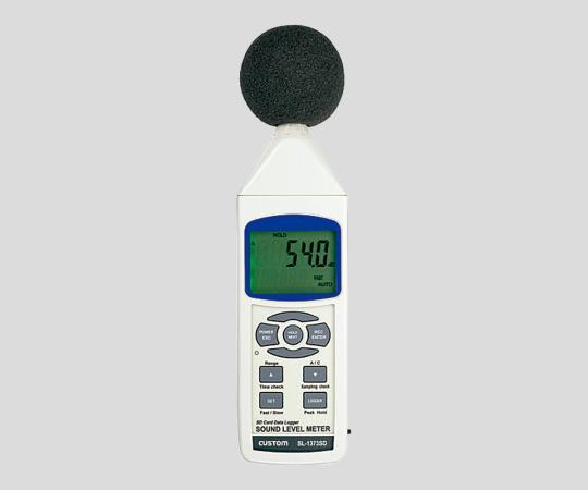 CUSTOM SL-1373SD Data Logger Sound Level Meter (30 - 130dB, 31.5Hz - 8kHz)