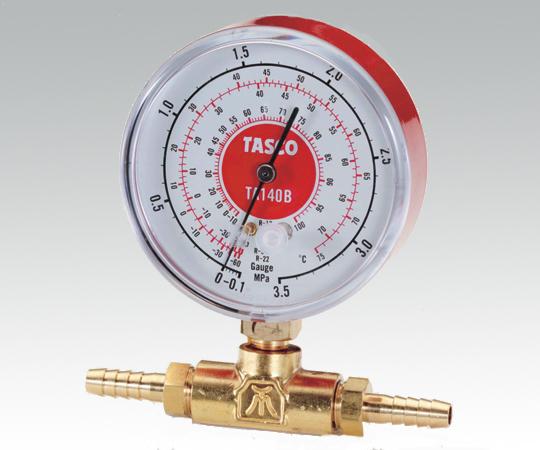 ICHINEN TASCO 105F Pressure Gauge (-0.1 - 3.5 MPa)