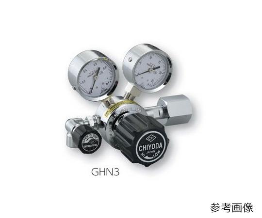 AS ONE 2-759-01 GHN3-2 Precision Pressure Regulator SRS-HS-GHN3-2 (0.1 - 0.6MPa)