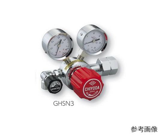 AS ONE 2-759-04 GHSN3-H2 Precision Pressure Regulator SRS-HS-GHSN3-H2 (15MPa, 0.1 - 0.6MPa)