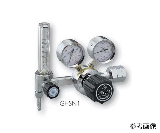 AS ONE 2-759-05 GHSN1-He Precision Pressure Regulator SRS-Hs-GHSN1-He (15MPa, 0.1 - 0.6MPa)