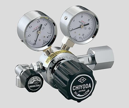AS ONE 3-1661-03 BHSN3-2-He Precision Pressure Regulator SRS-HS-BHSN3-2-He (15MPa, 0.1 - 0.3MPa)
