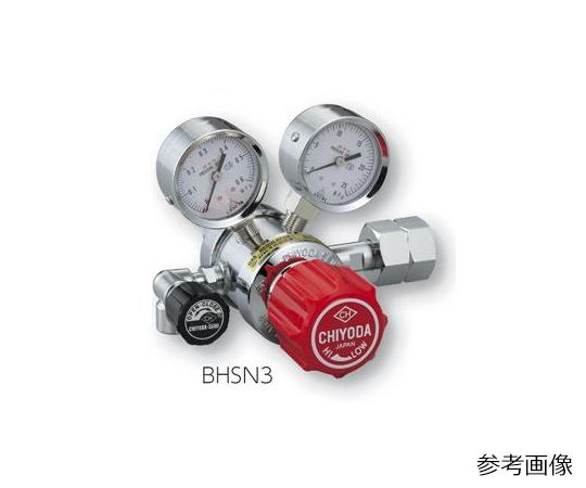 AS ONE 3-1661-04 BHSN3-2-H2 Precision Pressure Regulator SRS-HS-BHSN3-2-H2 (15MPa, 0.1 - 0.3MPa)