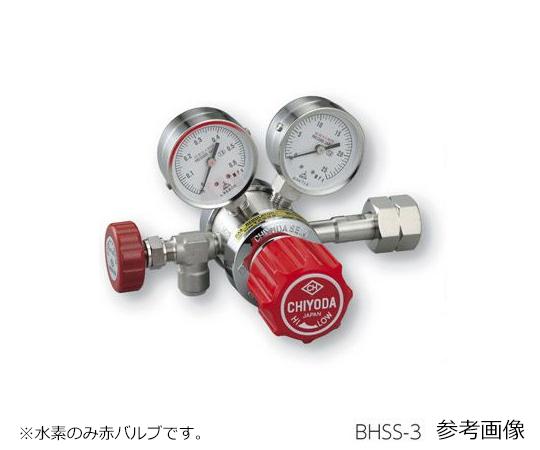 AS ONE 3-1661-07 BHSS-3 Precision Pressure Regulator SRS-HS-BHSS-3 (15MPa, 0.1 - 0.3MPa)