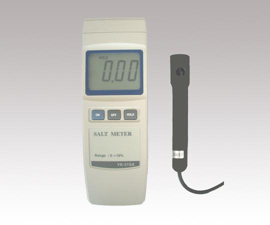 AS ONE 1-6556-01 YK-31SA Digital Salimeter (0.0 - 10.0%)