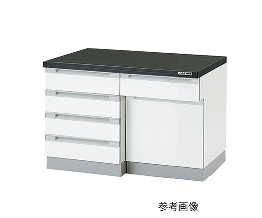 AS ONE 3-5827-21 SLA-1275 Side Laboratory Bench (Wooden Type) 1200 x 750 x 800mm