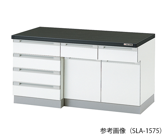 AS ONE 3-5827-22 SLA-1575 Side Laboratory Bench (Wooden Type) 1500 x 750 x 800mm