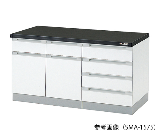 AS ONE 3-5829-21 SMA-1275 Side Laboratory Bench (Wooden Type) 1200 x 750 x 800mm