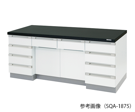 AS ONE 3-4185-11 SQA-1875 Side Laboratory Bench Wooden Type (1800 x 750 x 800mm)