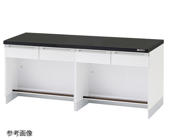 AS ONE 3-4348-17 SYA-2475 Side Laboratory Bench (Wooden Type) 2400 x 750 x 800mm