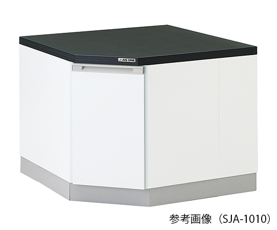 AS ONE 3-5826-21 SJA-1010 Side Laboratory Bench (Wooden Type For Corner) 1000 x 1000 x 800mm