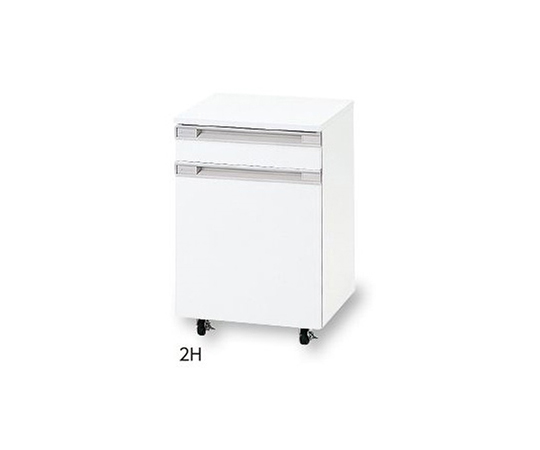 AS ONE 3-5838-13 2H Mobile Unit 1 Drawer And 1 Door