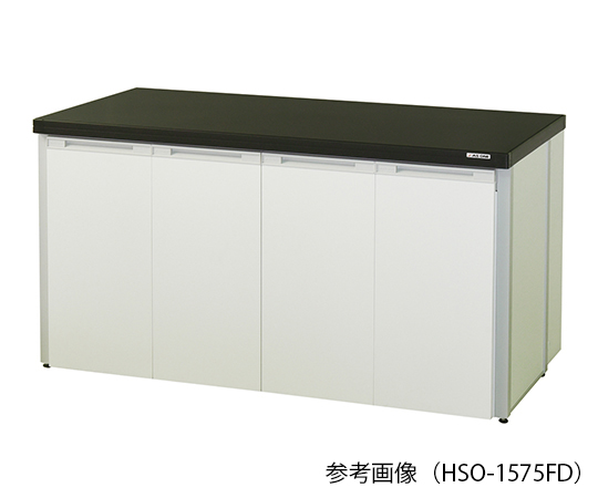 AS ONE 3-7730-07 HSO-3075FD Side Laboratory Bench (Frame Type With Folding Door) 3000 x 750 x 800mm