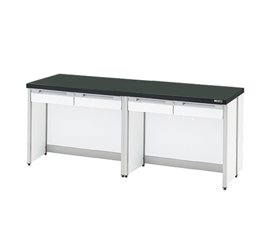 AS ONE 3-4317-16 HTO-2490 Side Laboratory Bench (Frame Type) 2400 x 900 x 800mm