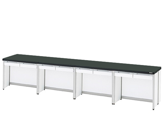 AS ONE 3-4317-18 HTO-3690 Side Laboratory Bench (Frame Type) 3600 x 900 x 800mm