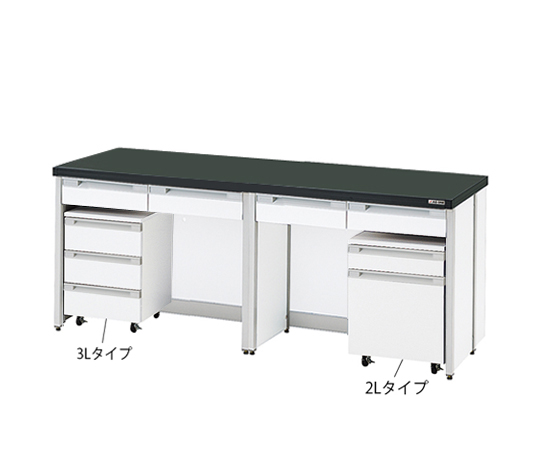 AS ONE 3-4189-15 HTI-1875 Side Laboratory Bench (Frame Type) 1800 x 750 x 800mm