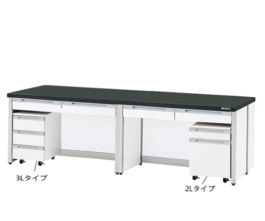 AS ONE 3-4189-17 HTI-3075 Side Laboratory Bench (Frame Type) 3000 x 750 x 800mm