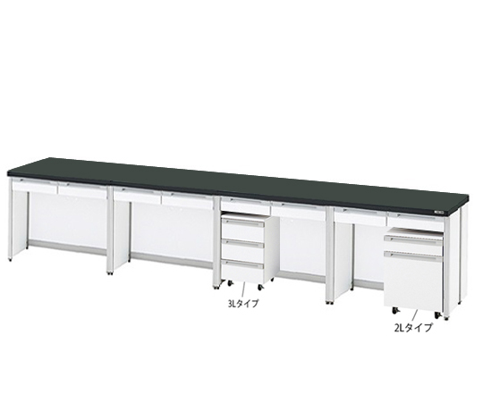 AS ONE 3-4189-18 HTI-3675 Side Laboratory Bench (Frame Type) 3600 x 750 x 800mm