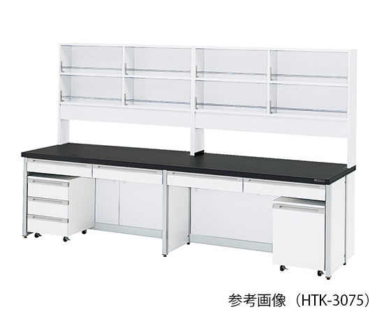 AS ONE 3-5836-24 HTK-3675 Side Laboratory Bench (Frame Type) 3600 x 750 x 800/1800mm