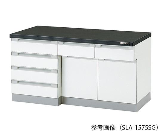 AS ONE 3-8039-03 SLA-1575SG Side Laboratory Bench (Wooden Island Type) 1500 x 750 x 800mm