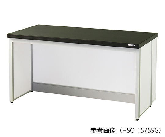 AS ONE 3-7727-02 HSO-1260SG Side Laboratory Bench (Frame Island Type) 1200 x 600 x 800mm