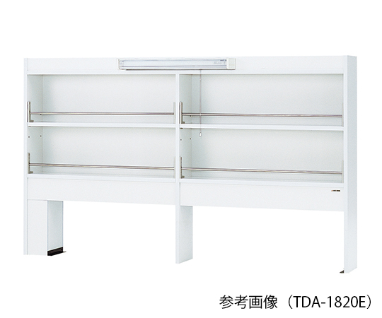 AS ONE 3-4582-13 TDA-1520E Reagent Shelf (Single-Sided Type With LED Light) 1500 x 200 x 1070mm