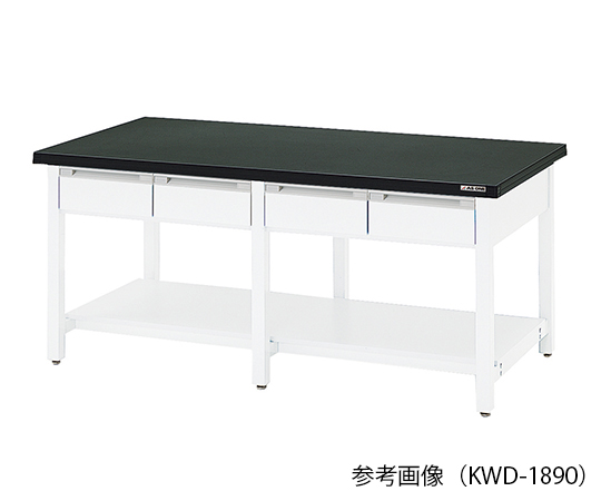 AS ONE 3-5810-14 KWD-2490 Workbench (Wood With Double-Sided Drawers) 2400 x 900 x 800mm