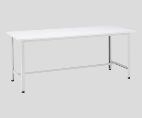 AS ONE 2-964-04 AE-1260W Plastic Decorative Plate Workbench White 1200 x 600 x 740mm