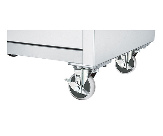 Shinko PCU-100SET Stainless Steel Workbench Plate Casters
