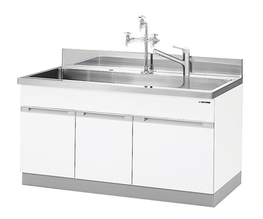 AS ONE 1-9101-12 DWA-1575V Sink (Expansion Type) 1500 x 750 x 800 (930)mm