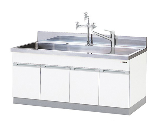 AS ONE 1-9101-13 DWA-1875V Sink (Expansion Type) 1800 x 750 x 800 (930)mm