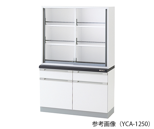 AS ONE 3-5841-13 YCA-1550 Chemical Instrument Cabinet 1500 x 400/500 x 1800mm